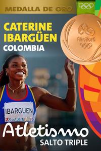 Rio 2016: Caterine Ibargüen Mena (Colombia) Oro en Atletismo (Salto Triple)
