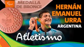 Rio 2016: Hernán Emanuel Urra (Argentina) Bronce en Atletismo