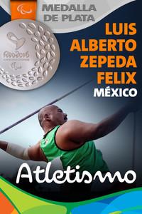 Rio 2016: Luis Alberto Zepeda Félix (México) Plata en Atletismo