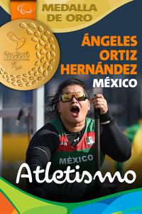 Rio 2016: María de los Ángeles Ortiz Hernández (México) Oro en Atletismo