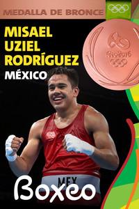Rio 2016: Misael Uziel Rodríguez (México) Bronce en Boxeo