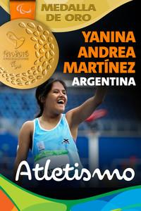 Rio 2016: Yanina Andrea Martínez (Argentina) Oro en Atletismo