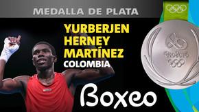 Rio 2016: Yurberjen Herney Martínez (Colombia) Plata en Boxeo